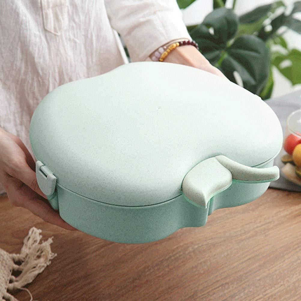 Creative Cute Apple Shape Candy Aufbewahrungsbox Stecto Snackbox Candy Box Snackbox in Lebensmittelqualit/ät mit Deckel f/ür Fruchtsnack