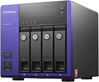 アイ・オー・データ機器 WD Red搭載 Windows Storage Server 2012 R2 Workgroup Edition 4ドライブNAS 4TB HDL-Z4WM4C2