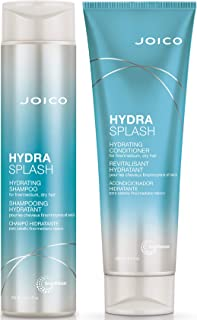Joico Hydrasplash Hydrating Shampoo and Conditioner Set for Fine Hair, 10.1-ounce