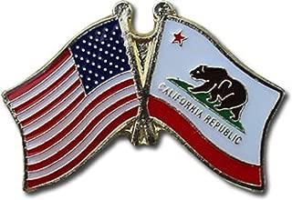Flagline California - State Friendship Lapel Pin