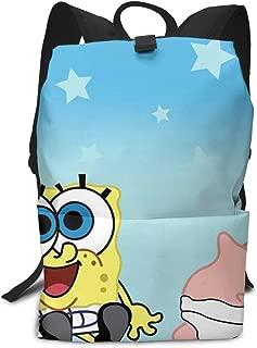 CHLING Lightweight Adult Backpack Briefcase Laptop Shoulder Bag Spongebob-Squarepants-Baby-Wallpaper-4 Classic Basic Daypack Bag