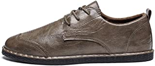 [PIRNLSRNMFLRRT32] カジュアルシューズ メンズ 革靴 外羽根 ストレートチップ ウイングチップ 通気性 ウォーキングシューズ 新生活 防滑 オシャレ 歩きやすい 軽量 シューズ