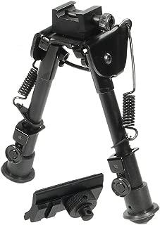 UTG Tactical OP Bipod, Rubber Feet, Center Height 6.1