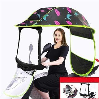 Protector impermeable para cochecito de bebé doble, tamaño universal, paraguas lateral para cochecito, cubierta para lluvia, scooter, doble