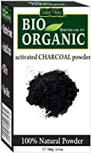 Indus Valley Natural Activated Charcoal Powder Organic Face Pack, 100g