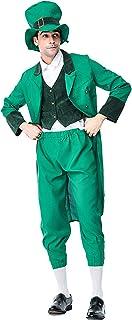 Moent, St.Patrick's Day Outwear Chaleco pantalones sombrero, Primavera 4 piezas Festival Hombres Niños Niños Conjunto Padre-Hijo, Accesorios de Cosplay Día Irlandés