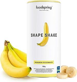 foodspring Shape Shake, 750g, Banane, Drink für dein Figur-Training, Von führenden..