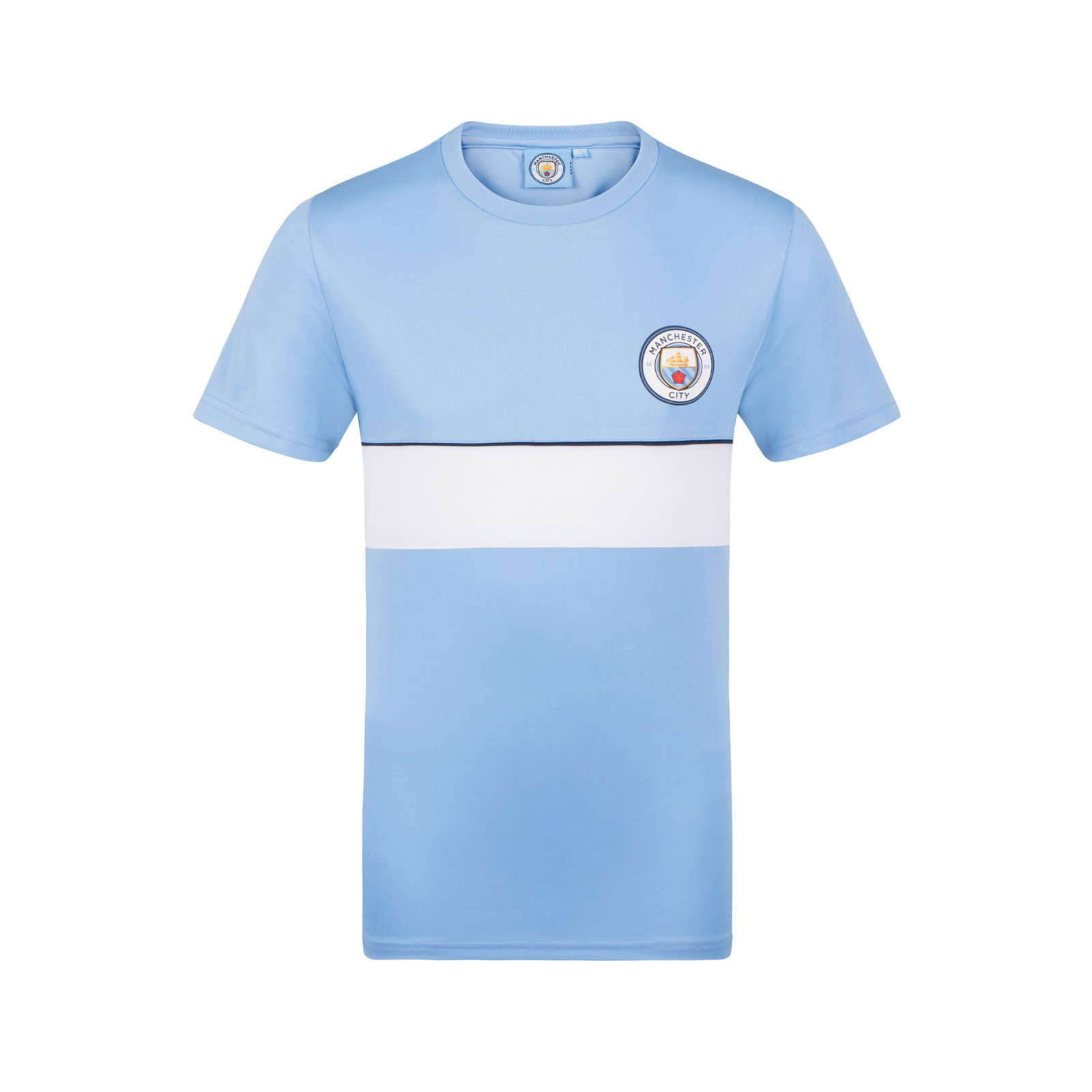 Manchester City Fc Official Football Gift Boys Poly Training Kit T Shirt Buy Online In Dominica At Dominica Desertcart Com Productid 118947544