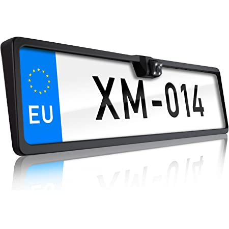 Xomax Xm 014 Rückfahrkamera Mit Nummernschild Elektronik