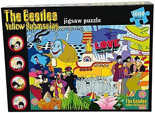 el más barato Paul Lamond Games Beatles amarillo Submarine Puzzle Puzzle Puzzle (1000-Piece) by Paul Lamond Games  venderse como panqueques