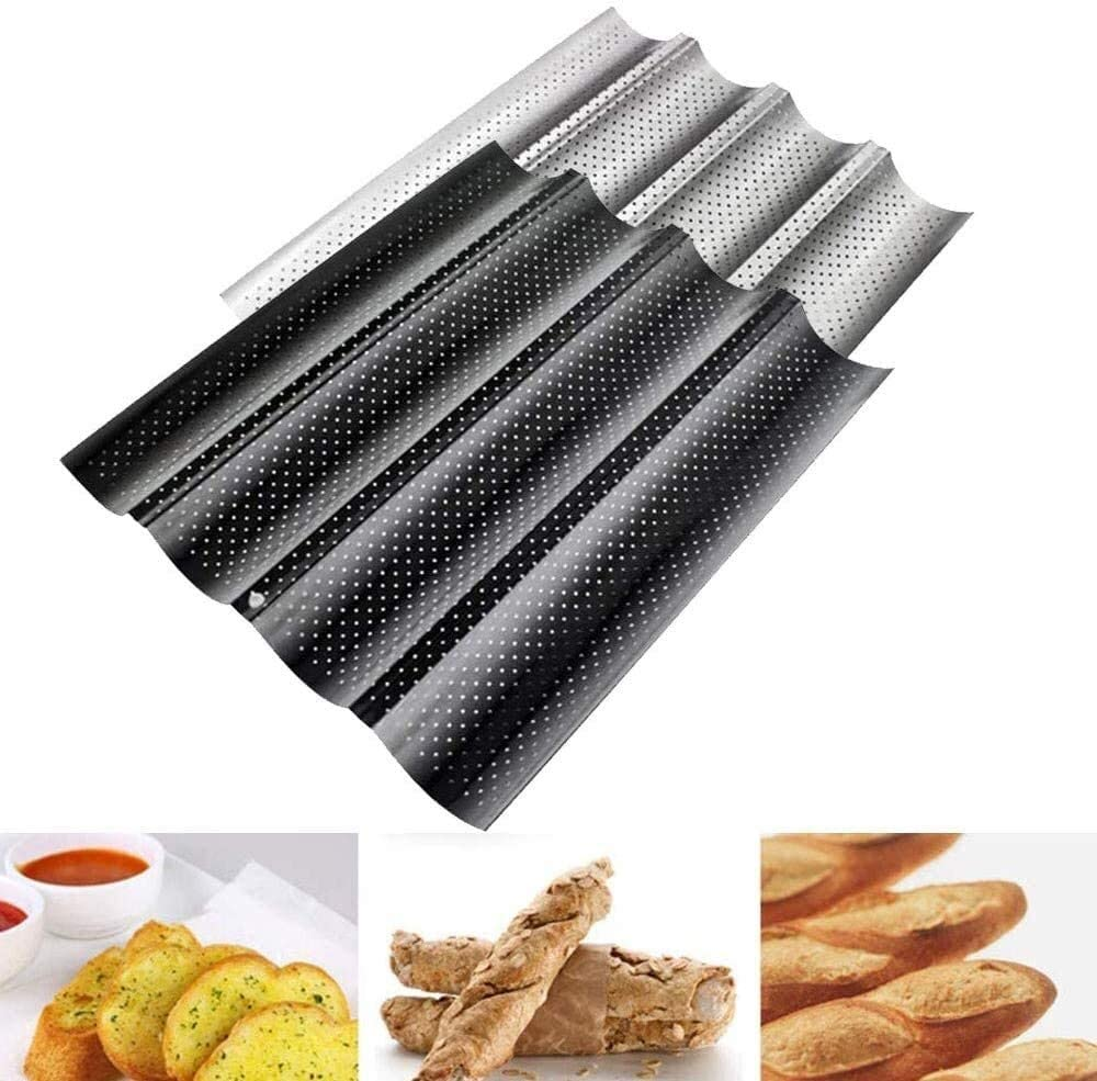 Purchase JYMBK toaster Nonstick Perforated French for Lowest price challenge Bread Pan Br