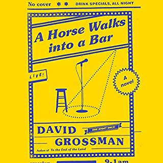 A Horse Walks into a Bar audiobook cover art