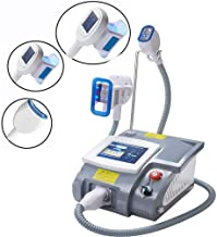 CKAN Freezing Fat Weight Loss Machine Fat Reduction Instrument Portable with 3 Handles Negative Pressure Frozen Beauty Instrument for Arm Waist Belly Buttock Legs Estimated Price : £ 1831,29