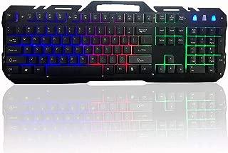 Qualimate WQ1502A Rainbow Backlit Gaming Keyboard
