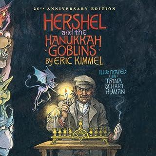 Hershel and the Hanukkah Goblins audiobook cover art