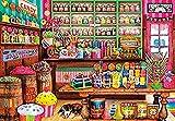 IILSZMT 1000 Piece Wooden Jigsaw Puzzles Tienda De Dulces Classic Rompecabezas Juguete, Puzzle Adultos Niños, DIY Hecho Mano - Adult Puzzles Desafío Juego Educación Regalo75Cmx50Cm