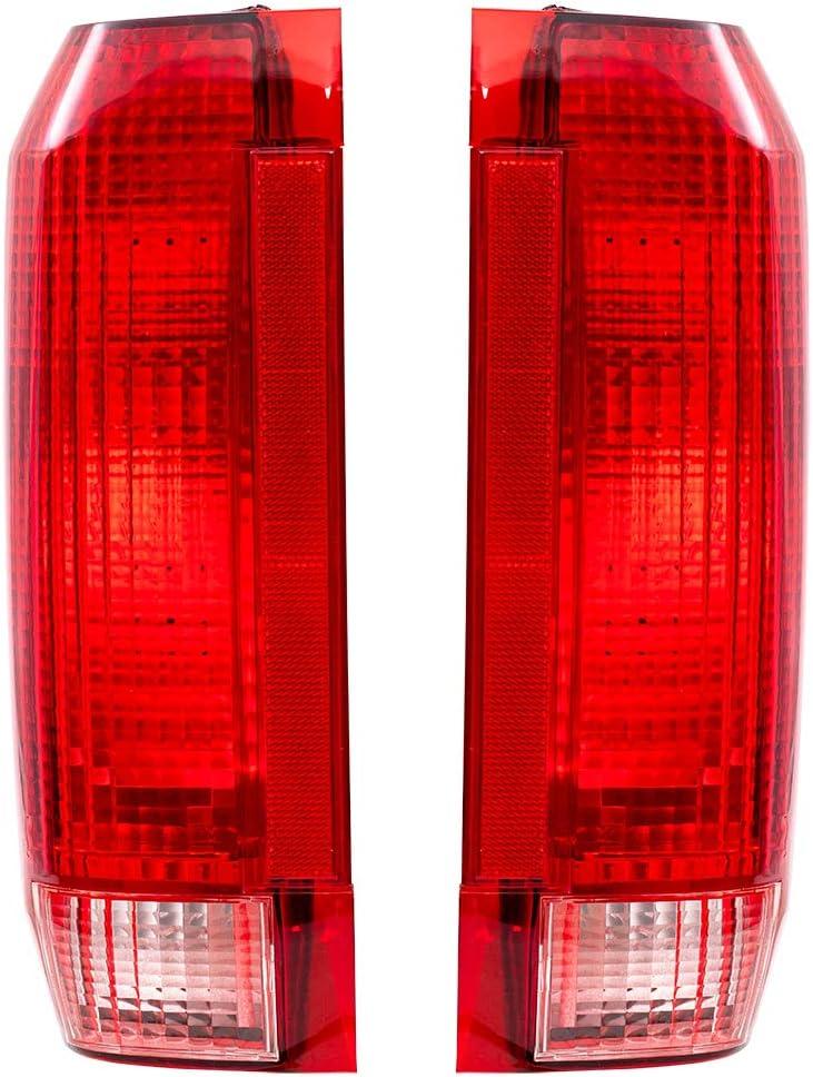 最新号掲載アイテム Brock Replacement Driver and Passenger 18%OFF Lamps Com Tail Taillights