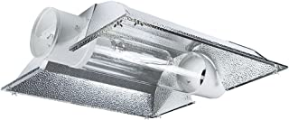 iPower GLCLTB6XL-a 6 Inch Cool Tube Hydroponic Reflector Hood Light Fixture Add-on XL Wing for HPS MH Grow Bulb, Silver