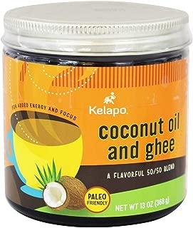 Kelapo Coconut Oil & Ghee 50/50 Blend, 13 oz Jar