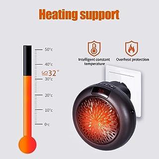 Calefactor Eléctrico de Aire Caliente,KKmoon Calefactor Silencioso,400W Ventilador Calentador,para Baño Oficina Dormitorio
