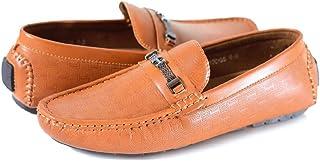Moc 58 Loafers For Men (7.5 Uk, Black)