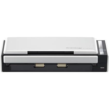 Fujitsu ScanSnap S1300i - Escáner de Documentos (600x600 dpi, USB), Negro y Plateado