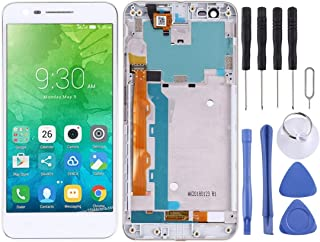 Repair tools,Completely fit and work Replacement LCD Screen+Touch Screen and Digitizer Full Assembly with Frame for Lenovo...