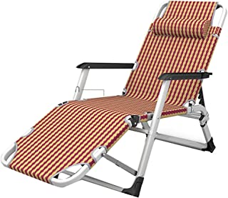 Lettino Spiaggia per ufficio Sdraio Pieghevole balcone spiaggia,campeggio,192 x 62cm Sedia Sdraio da Esterno blu giardino Lettino Prendisole Sdraio da Giardino portatile patio lounge Chair