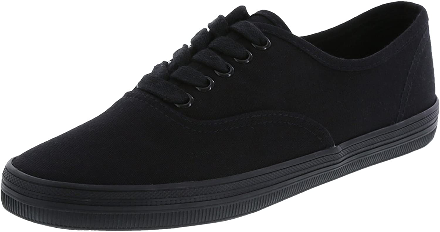 City sneaks Women's Black Women's Bal Sneaker 11 Wide