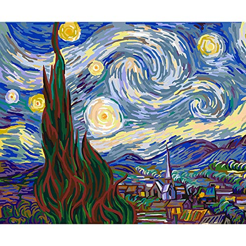 SiJOO Pittura Digitale Arte Pittura a Olio Digitale Dipinto a Mano Qitian Dasheng Sun Wukong...