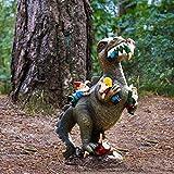 Zoom IMG-2 lishirong dinosauroo statua di gnomo