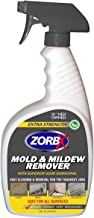 ZORBX Extra Strength Mold and Mildew Cleaner and Odor Remover – Non-Toxic and Biodegradable All Purpose Cleaner and Odor Remover is Safe for All, Even Children, with No Harsh Chemicals (24 oz.)