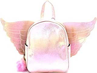 pink angel wing backpack