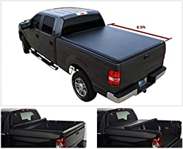 Vekwena 1pc Soft Lock & Roll-up Top Mount Truck Bed Assembly with Rails+Mounting Hardware for 88-00 C10 C K 1500 2500 3500...