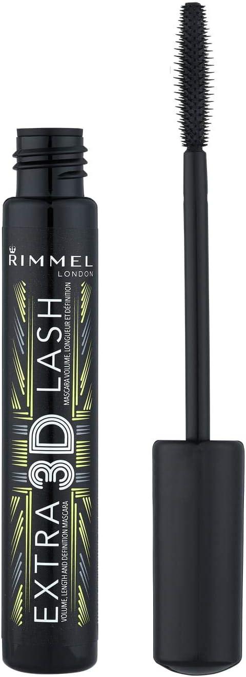 Rimmel London Extra 3D No. Minneapolis Mall 003 for Lash shopping Mascara Extreme Black Wo