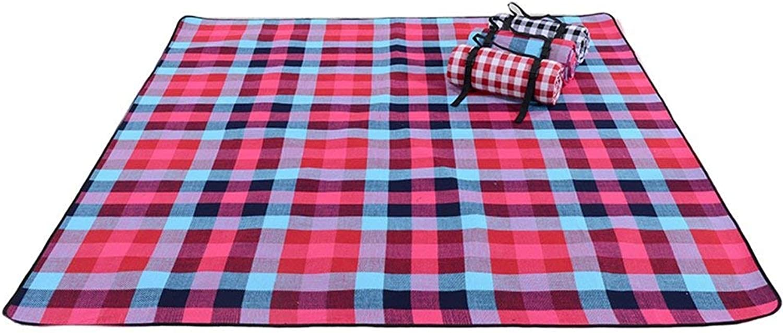 IG Picknickdecken-Outdoor Zelt wasserdichte Matte Multiplayer Camping Teppich Dick Erweitern Picknickdecke Gro