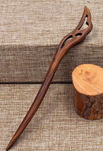 ❃ ETHNISCHER HOLZ HAAR STAB ❃ Ethno Haarstab aus Holz, Natürlicher Haarschmuck, Haarnadel, Haarstab, Hochsteckfrisur, Frisur