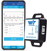 WitMotion BWT61CL Bluetooth MPU6050 Gyro+Accelerometer (+-2g/4g/8g/16g) 6-Axis Digital Acceleration Sensor (TTL Serial 100HZ Output) 3-Axis Triple-Axis Gyroscope Module Tilt Angle for Arduino and more