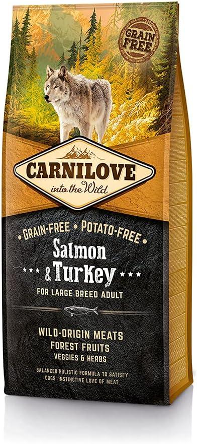 Carnilove Canine Adult Large Salmon Pavo 12000 g