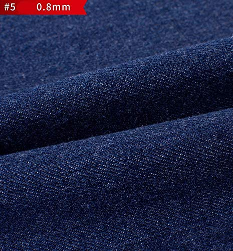 Polster Jeansstoff Gewaschene Baumwolle Stretch Well Sommer Dünnschnitt Genähtes Jeanshemd Jacke Shorts Rock Breite 138cm 1 Stück=100cm (Color : 2#)