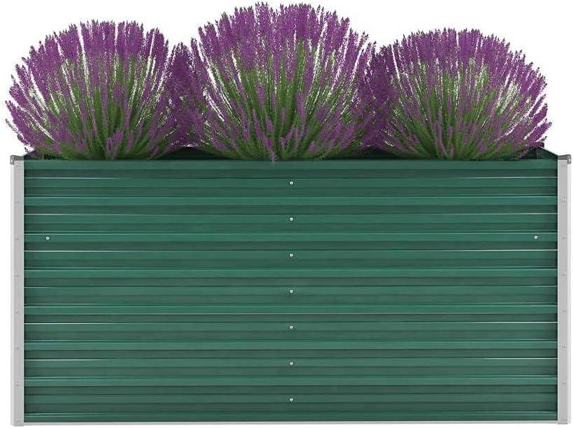 Popular shop is the lowest price challenge Garden Raised Bed favorite Galvanized Steel Planter 63 Lawn Box Grass for