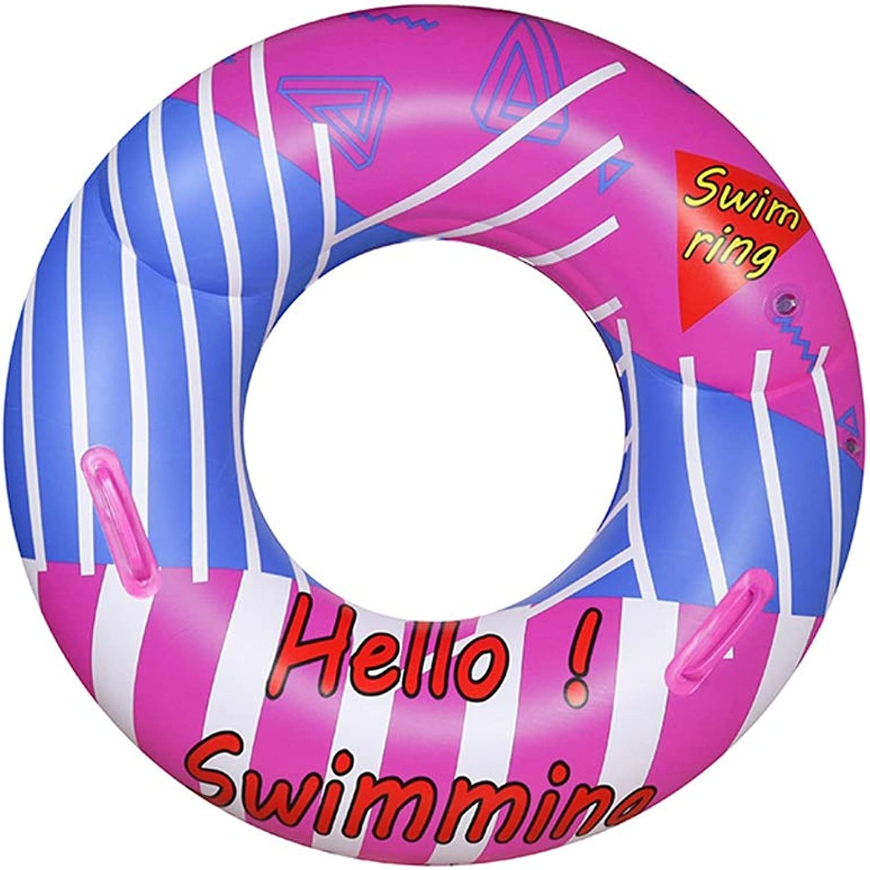 LPFMM Umweltfreundlicher Schwimmring für Erwachsene aus PVC mit verdicktem Unterarm-Schwimmkreis-Strandsitz zur Erhhung des Rettungsrings am Meer Aufblasbarer Kajak (Größe   40cm×87cm)