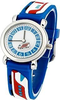 Hemobllo Kids Quartz Watch Students Analog Watch Waterproof Time Teacher Silicone Wrist Watches for Kids Children (Blue)