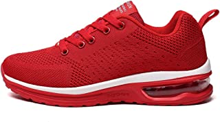 SKLT Air Cushion Damping Running Shoes for Women Men Breathable Snkeaers Weave Casual Jogging Trainers Mesh Sport Shoes
