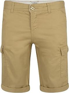 Lee Cooper Mens Cargo Casual Cotton Combat Summer Shorts