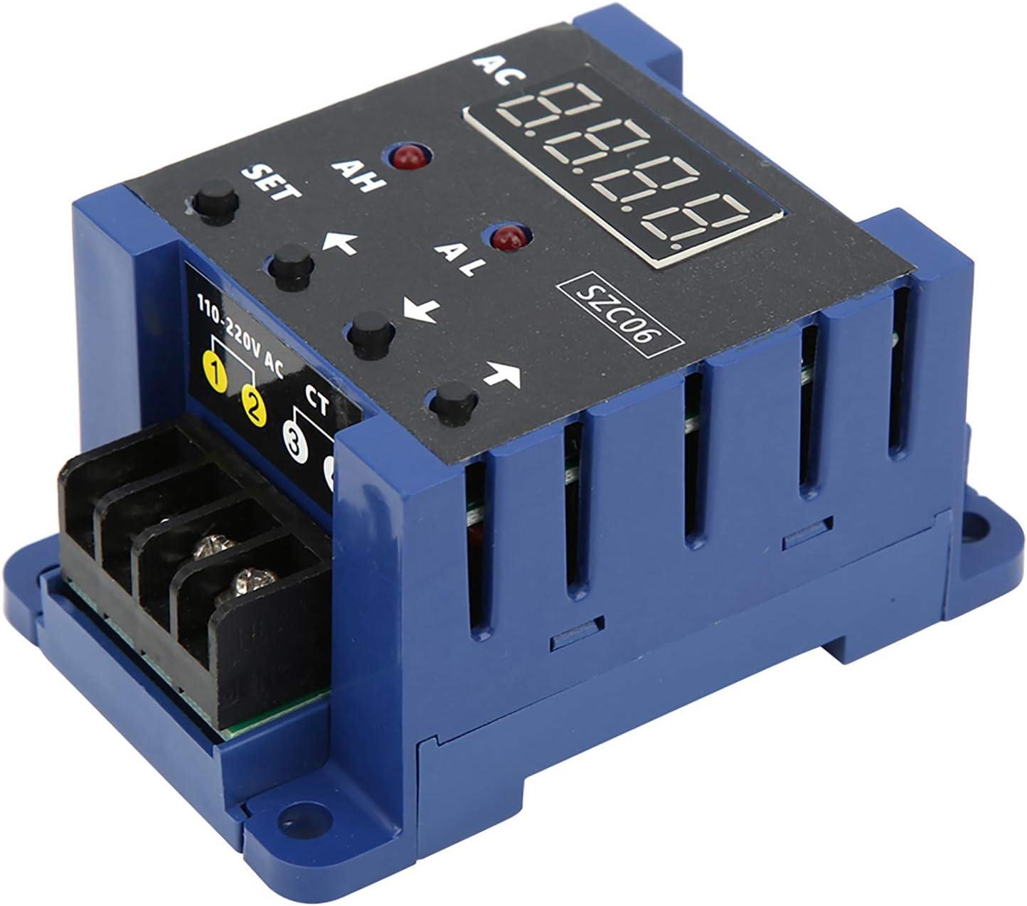rilevamento rel/è di ritardo per il controllo dellautomazione del sistema di 100A 0,3-50 A con protezione da sovraccarico corrente Misuratore di corrente CA Amperometro CA
