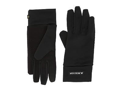 Burton Kids Touch N Go Liner Gloves (Little Kids/Big Kids) (True Black) Snowboard Gloves