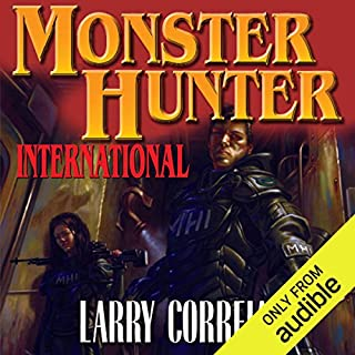 Monster Hunter International                   By:                                                                                                                                 Larry Correia                               Narrated by:                                                                                                                                 Oliver Wyman                      Length: 24 hrs     17,005 ratings     Overall 4.4