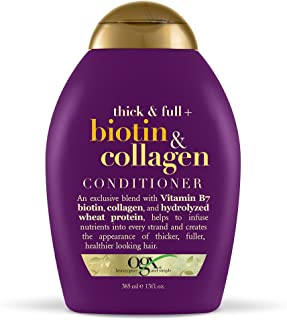OGX Conditioner, Thick & Full Biotin & Collagen, 13oz
