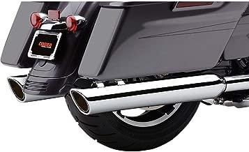 COBRA 17-19 Harley FLHX2 909-Twins Slip-On Exhaust (Raven Black)